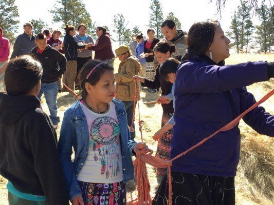 Teca Woasniye Wicoti (Youth Healing Camp) on The Pine Ridge Reservation a Success!