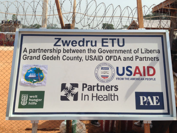 USAID Billboard