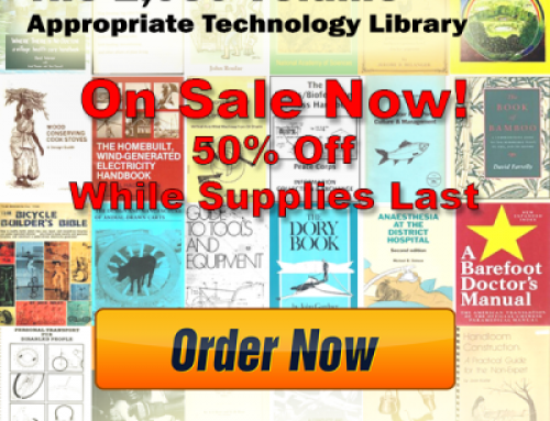 50% Off The 1,050 Volume Appropriate Technology eBook Library, While Supplies Last!