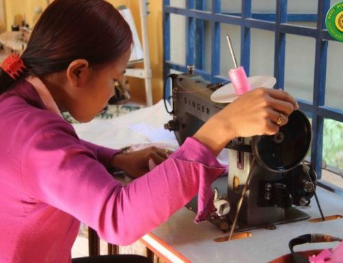 Village Earth Global Affiliate Human and Hope Association Providing Cambodians with 'Sew Many Opportunities'