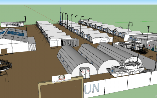 Using Sketchup 3D Modeling Software for Community Development and Relief