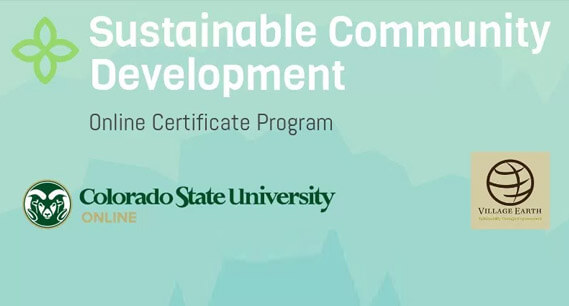 Spring 2018 Classes for the Village Earth/CSU Online Certificate Program in Sustainable Community Development